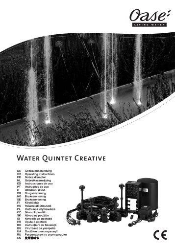 Water Quintet Creative - Zahradní jezírka OASE