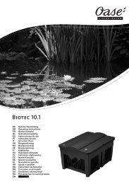 Biotec 10.1 - Zahradní jezírka OASE