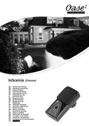 InScenio Dimmer - Oase