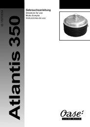 Gebrauchsanleitung (pdf) - Oase