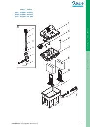 & B / & A D / P 71 Produkt / Product 50525 BioSmart Set 5000 ... - Oase
