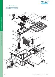 B / & AD / 90 Produkt / Product 57127 BioTec ScreenMatic 12 ... - Oase