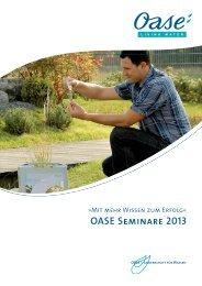 OASE Seminare 2013