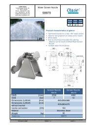 58970_Datasheet_Water screen nozzle - Oase