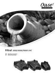 Filtral 3000/6000/9000 UVC - Oase Teichbau