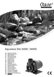 Aquamax Dry 6000 - 16000 - Oase Teichbau