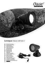 Lunaqua Classic LED Set 1 - Oase Teichbau