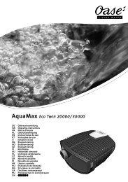 AquaMax Eco Twin 20000/30000 - Oase Teichbau