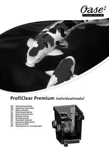 ProfiClear Premium Individualmodul - Oase Teichbau