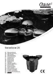 SwimSkim 25 - Oase Teichbau
