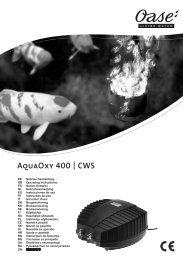 AquaOxy 400 | CWS - Oase Teichbau