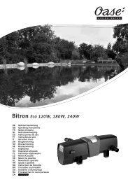 Bitron Eco 120W, 180W, 240W - Oase
