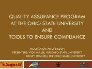 Quality Assurance Program - oasfaa