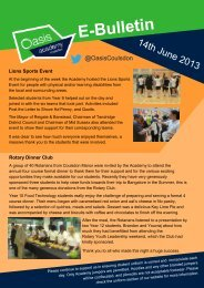 14.06.2013 - Oasis Academy Coulsdon