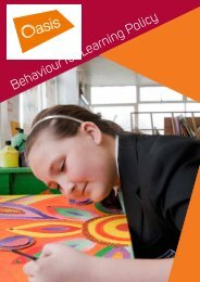 Behaviour for Learning Policy - Oasis Academy Mayfield