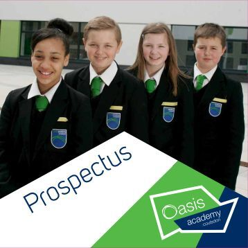 download a copy of our Prospectus - Oasis Academy Coulsdon