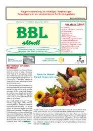 Nr. 3/2013 (2 MB) - ÖBB - Landwirtschaft