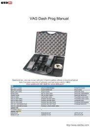VAG Dash Prog Manual - Obd2be.com
