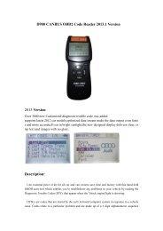 Autocom CDP Pro For Cars User Manual pdf - OBD China