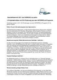 Geschäftsbericht 2011 - Landkreis Oberallgäu