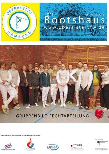 Ausgabe 1 / 2013 - Oberalster Verein für Wassersport e.V.