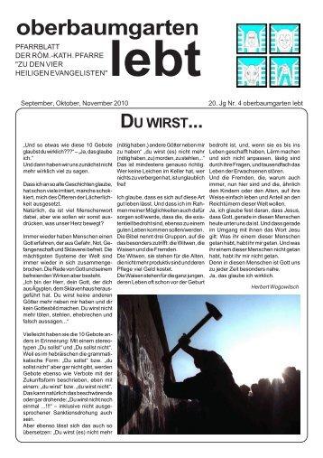Pfarrblatt Jg20 Nr 4 (Sep, Okt, Nov 2010) im PDF-Format - Pfarre ...