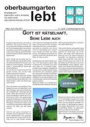 Pfarrblatt Jg21 Nr 2 (März, April, Mai 2011) im PDF-Format - Pfarre ...