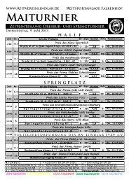 Zeiteinteilung - Oberberg-Aktuell