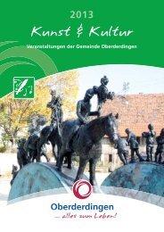 Kunst & Kultur 2013 - Oberderdingen