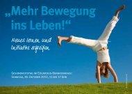 Mehr Bewegung ins Leben! - Eduardus-Krankenhaus gGmbH
