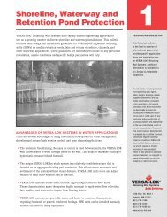 Shoreline, Waterway and Retention Pond Protection 1
