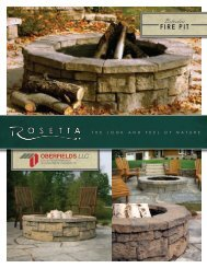 Download Rosetta Belvedere Fire Pit Brochure