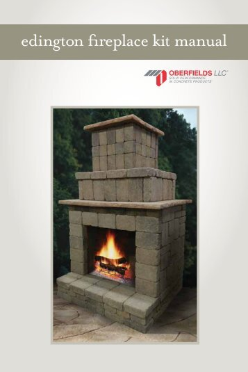 edington fireplace kit manual