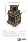 edington fireplace kit manual - Page 2