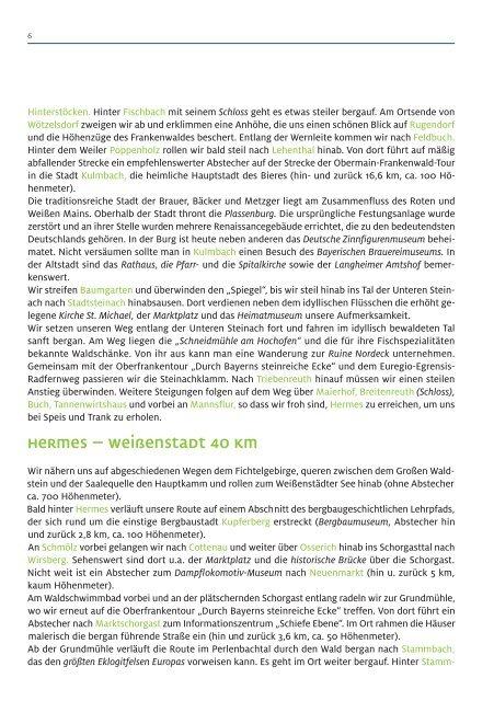 Radflyer Technikgeschichte und verwunschene Täler