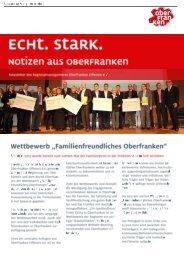Newsletter Ausgabe 05/2013 - Oberfranken