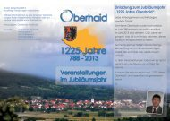 Flyer - Oberhaid