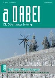 Adabei Winter 2013 - Gemeinde Oberhaag