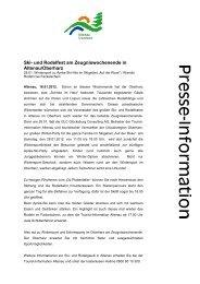 Ganze Pressemitteilung lesen (PDF) - Der Oberharz
