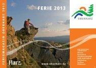 FerIe 2013 - Der Oberharz