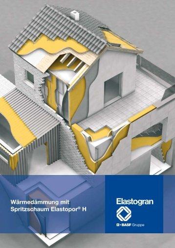 Wärmedämmung mit Spritzschaum Elastopor - Energy Efficiency ...