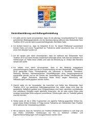 Verzichtserklärung und Haftungsfreistellung als PDF ... - Der Oberharz