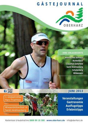 Gästejournal Juni 2013 (PDF) - Der Oberharz