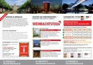 WEIHNACHTSTOUR - Tourismus & Marketing Oberhausen GmbH