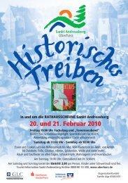 20. und 21. Februar 2010 - Der Oberharz