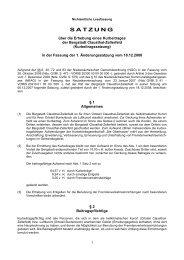 Kurbeitragssatzung CLZ Lesefassung ab 2009 - Der Oberharz