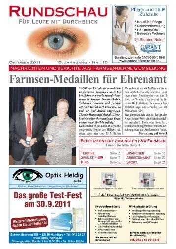 Farmsen-Berne - Rundschau – Für Leute mit Durchblick