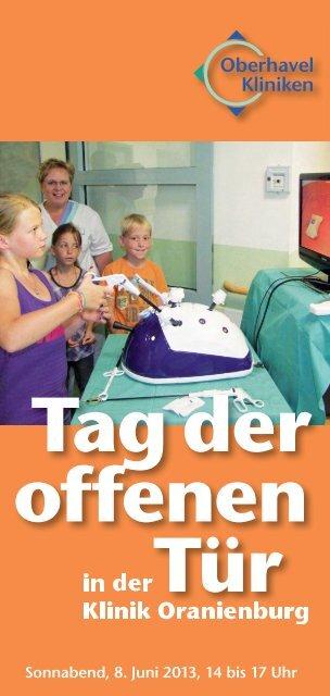 Flyer - Oberhavel Kliniken GmbH