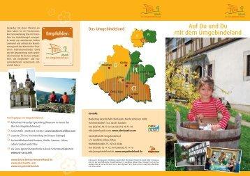 """Infomaterial zum Thema """"Urlaub im Umgebindehaus ... - Oberlausitz"""