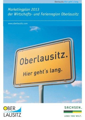 Marketingplan_2013_Stand 29.11.2012 - Oberlausitz
